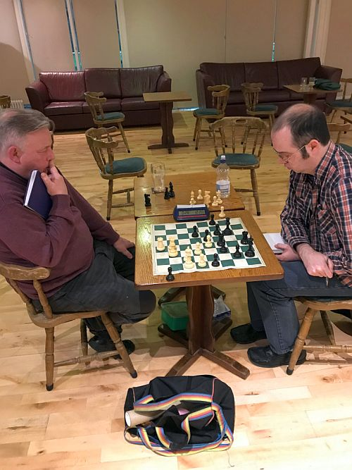 Liam O'Brien v Tim Dineen rd5 Club Ch 2019